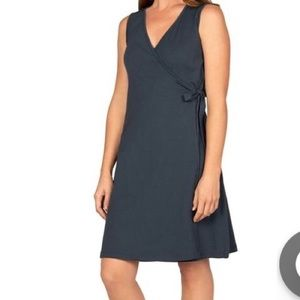 Ladies Classic Wrap Dress